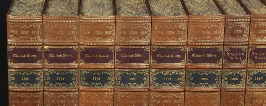 Faux fake books Antique spines