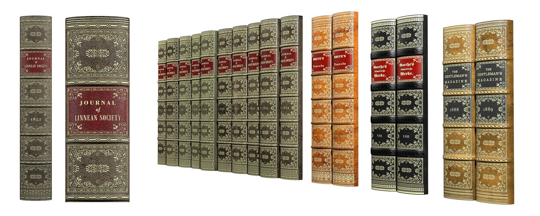 Antique Spines